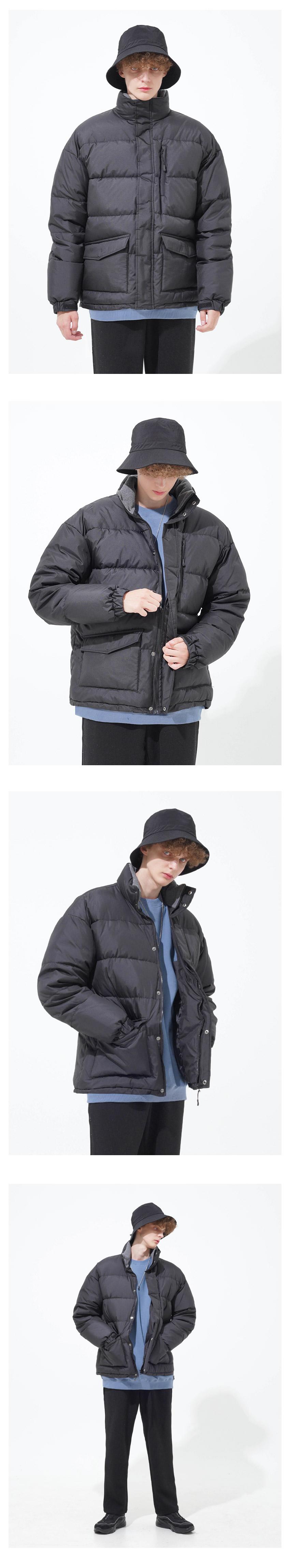 [페플] 임팩트 포켓 덕다운 패딩 6종 베이지 KHOT1236