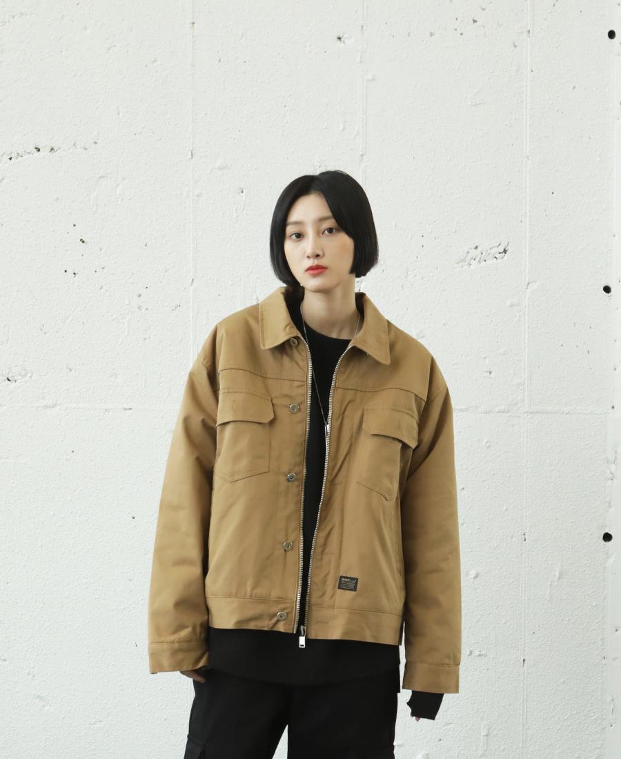 [제멋] 데일리 더블 양털자켓 2종 베이지 YHJK2161