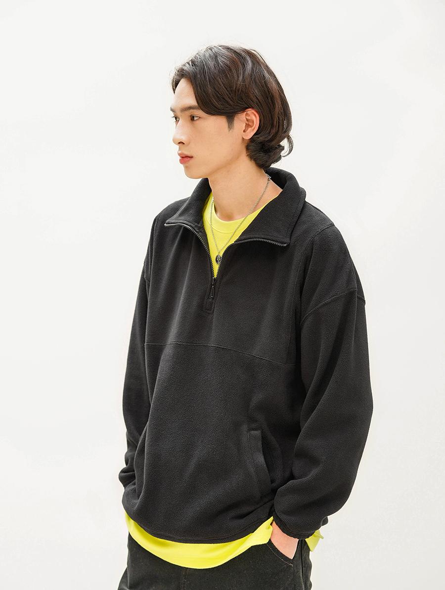 [제멋] 피버 플리스 아노락 맨투맨 4종 KJMT2245