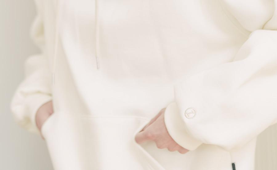 [제멋] 로그 오버핏 기모 후드 5종 YHHD2302