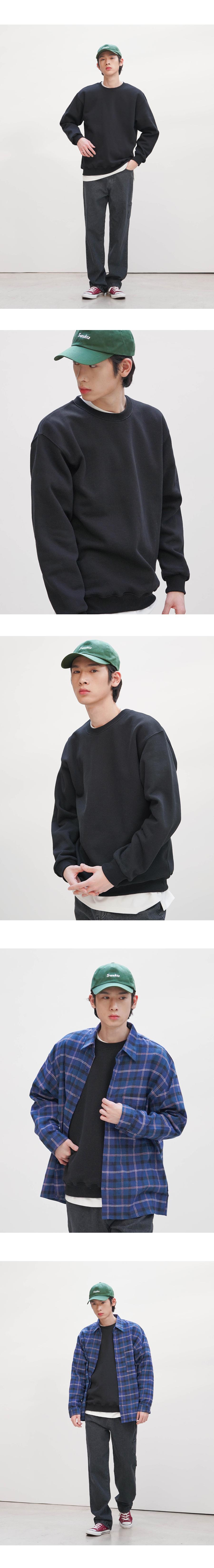 [제멋] 레벨 덤블기모 맨투맨 HJMT2277