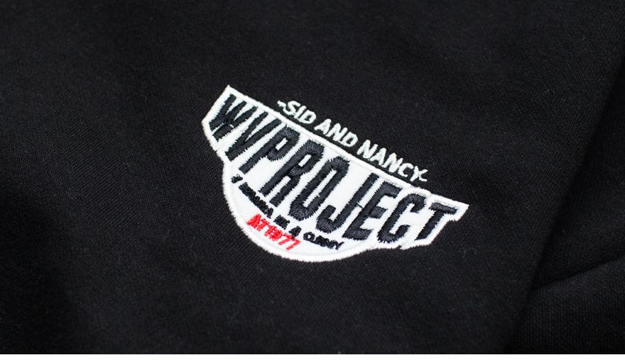 더블유브이프로젝트(WV PROJECT) 시너비 아노락 블랙 MJMT7100