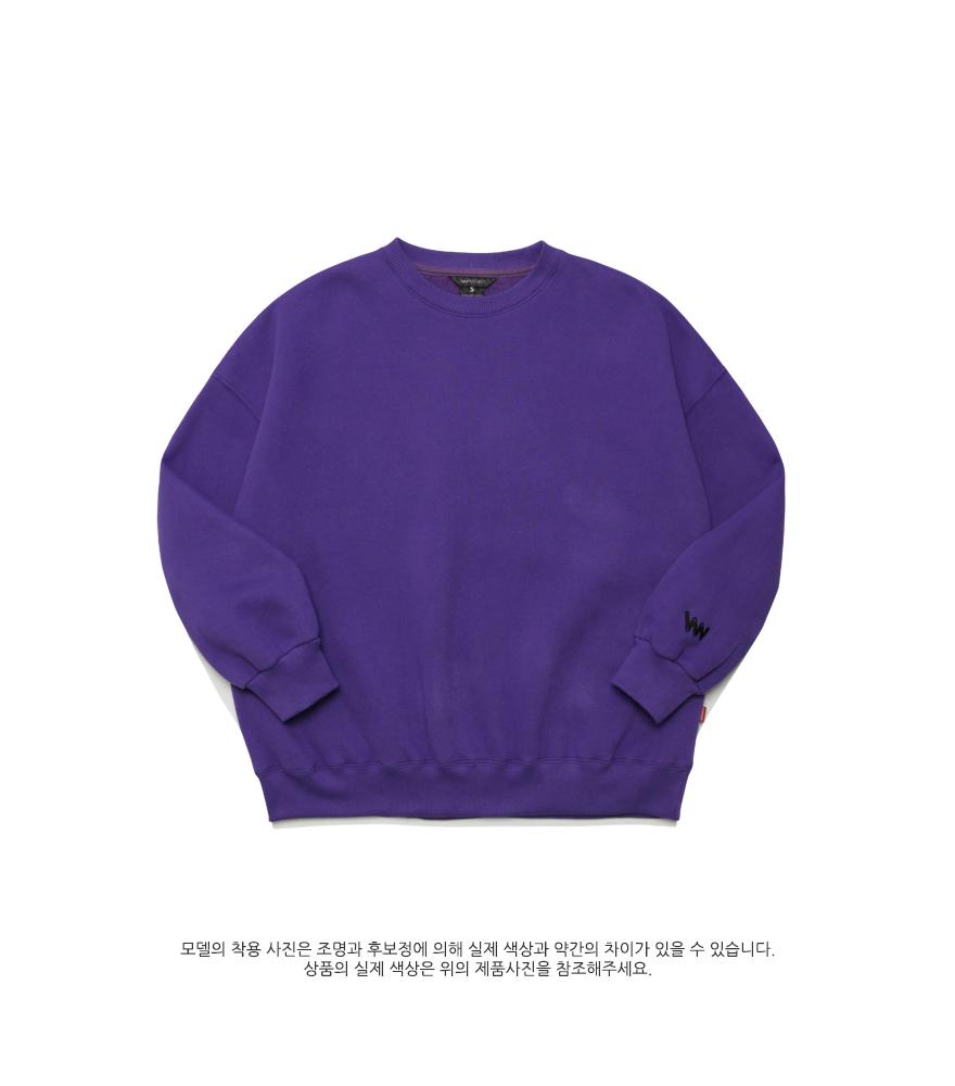 [더블유브이프로젝트] 블루밍 맨투맨 6종 JJMT7204