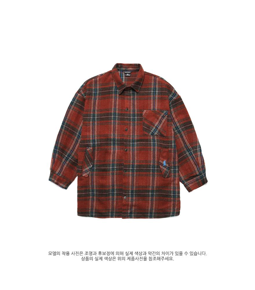 [더블유브이프로젝트] 바비 체크셔츠 3종 MJLS7210