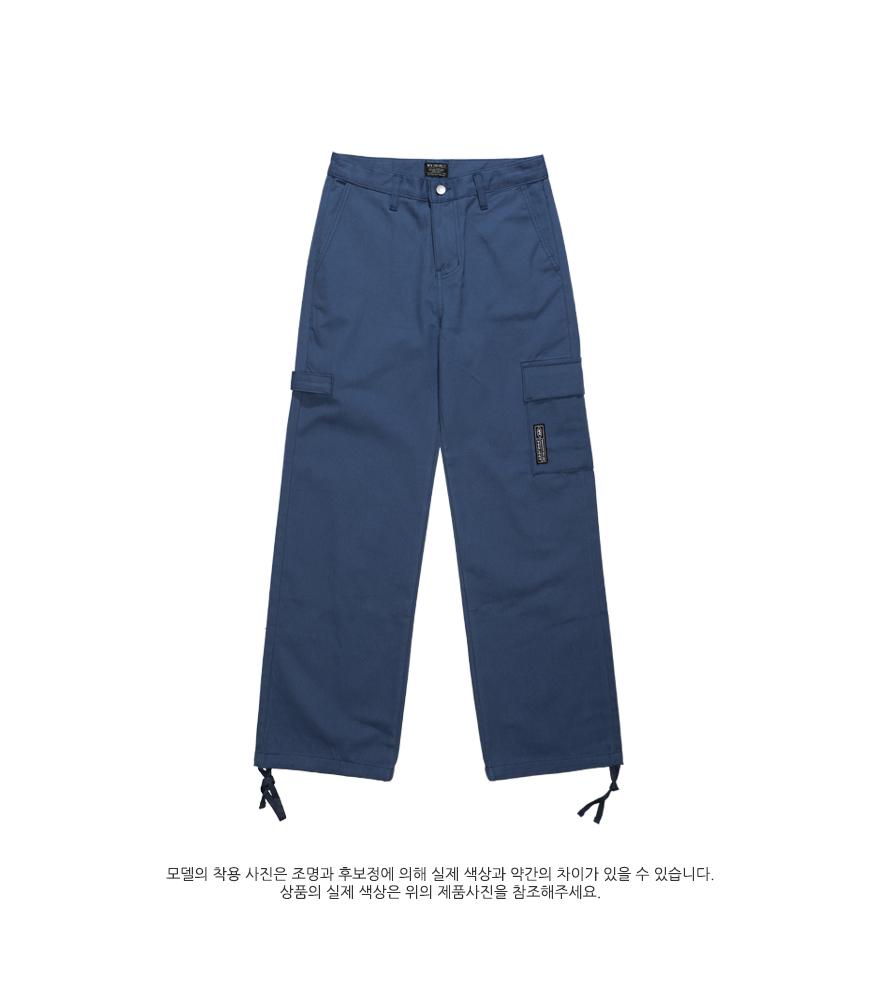 [더블유브이프로젝트] 와이드 치노팬츠 블루 CRLP7330