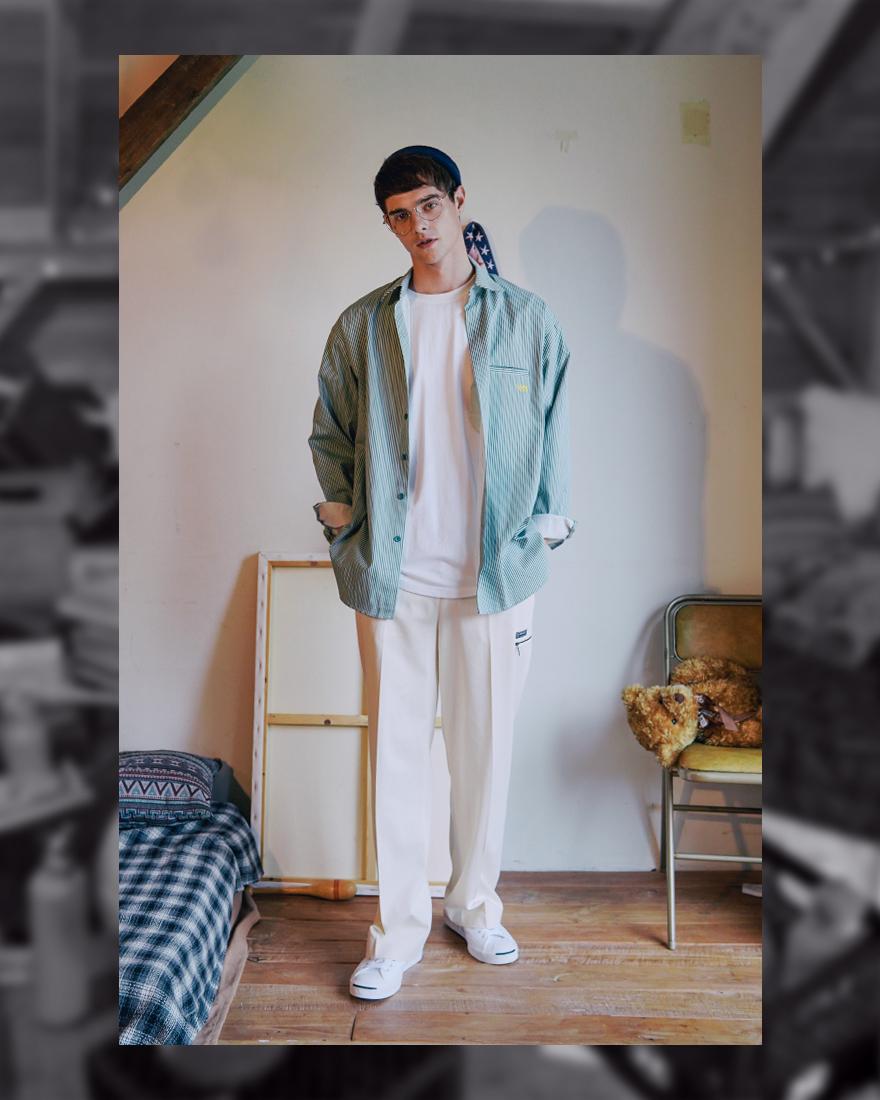 [더블유브이프로젝트] 파노 스트라이프 셔츠 4종 SYLS7309