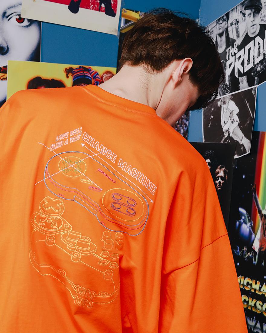 [더블유브이프로젝트] 컨트롤러 반팔 티셔츠 4종 YRST7243