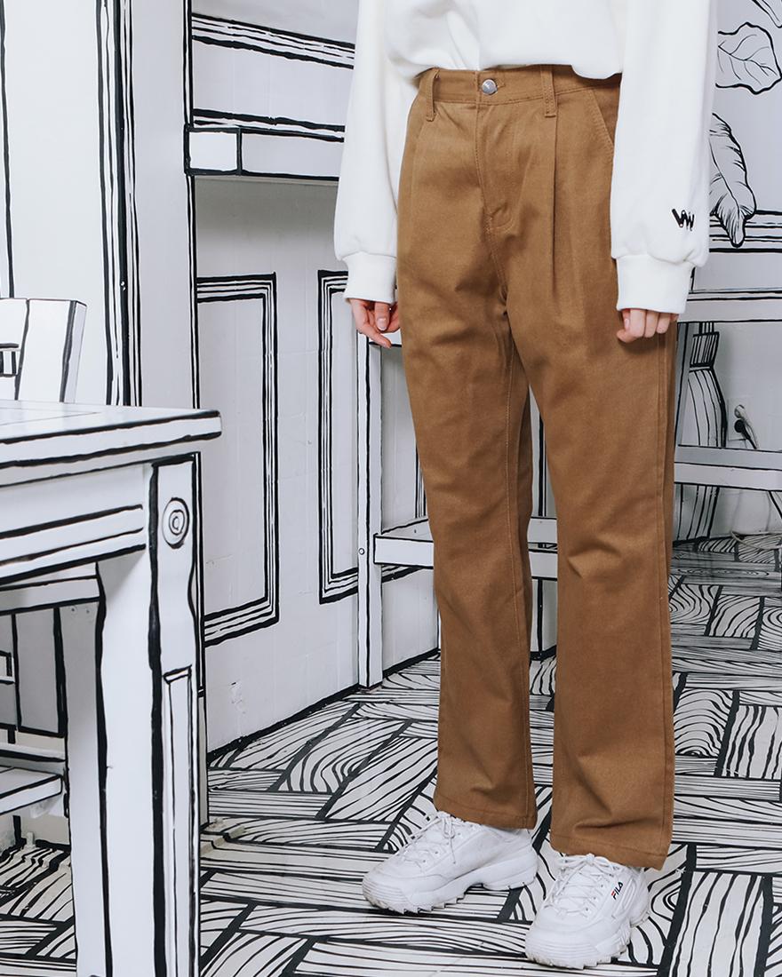 [더블유브이프로젝트] 모다 와이드팬츠 카멜 MJLP7220