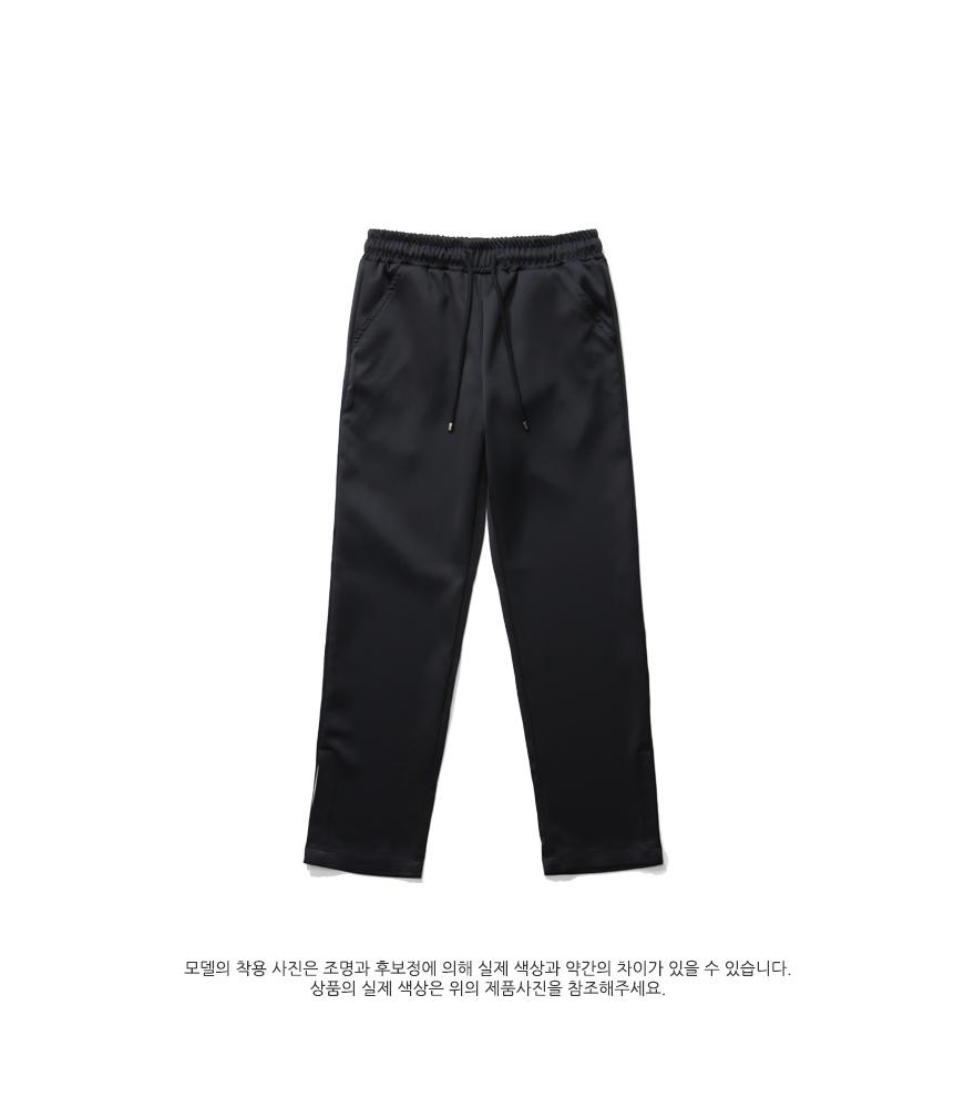 [더블유브이프로젝트] 투게더슬랙스 블랙 SYLP7223