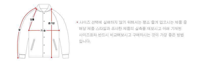 티떠블유엔(TWN) 스컬제스처 스타디움 자켓 회색 STOT3036