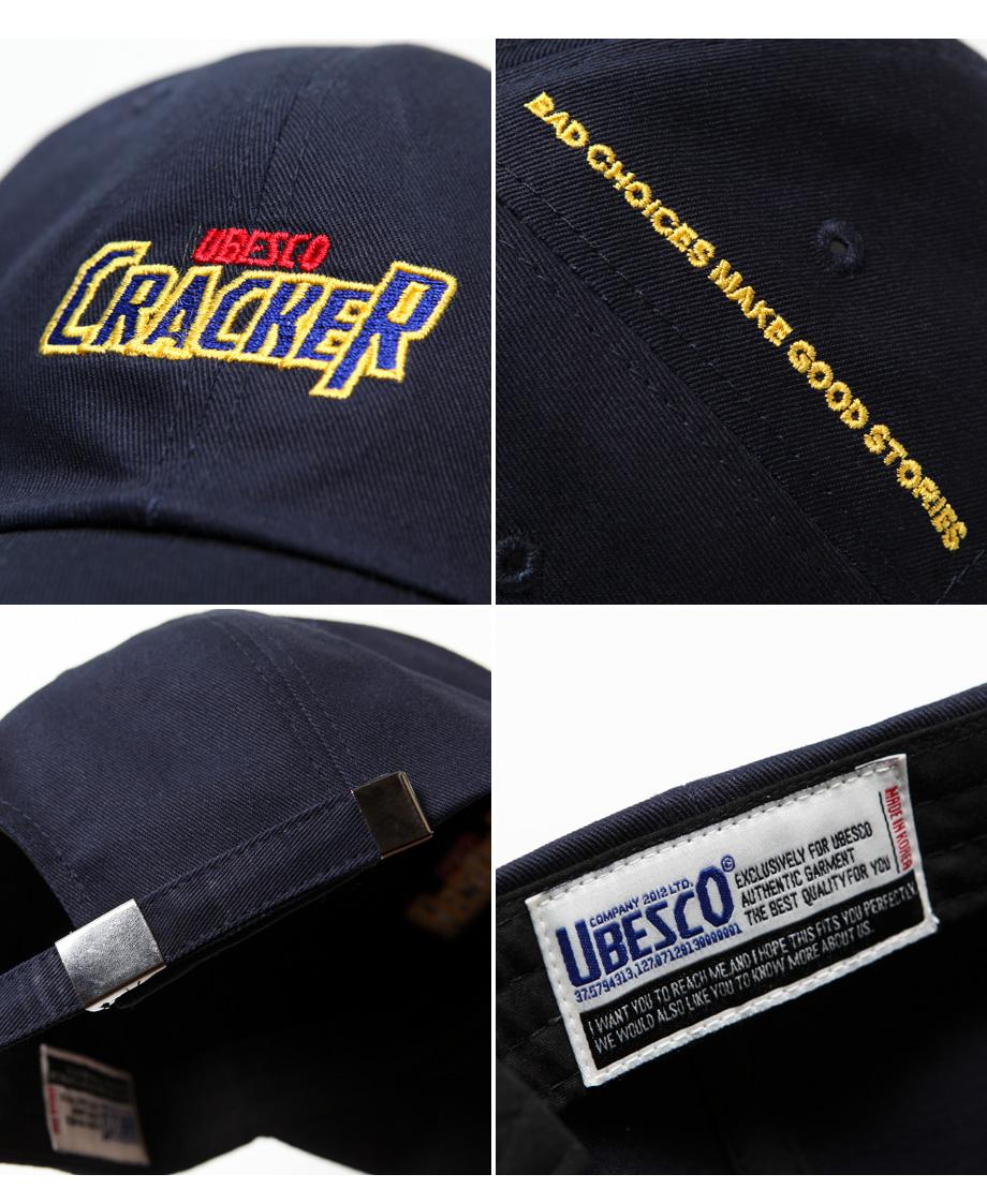 유베스코(UBESCO) 크레커 볼캡 곤색 MSCA8033