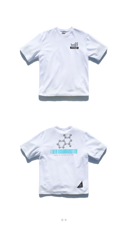 [펀치라인] 사이언스 반팔 4종 KHST6091